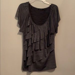 Like new Notations ruffled top